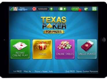 GUI Design – Texas Poker for Prizes