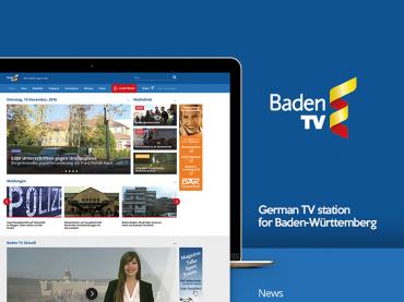 BadenTV website