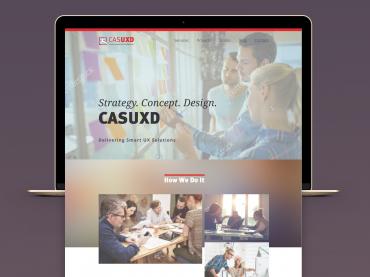 UXD webdesign concept